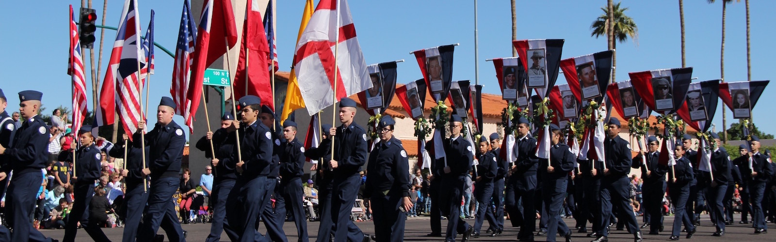East Valley Veterans Parade AZ fallen